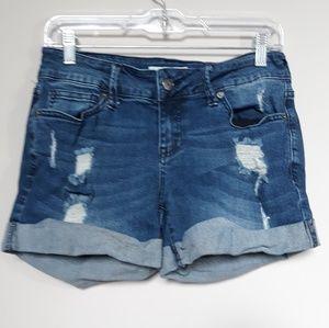 Guess | Denim Distressed Jean Shorts 28